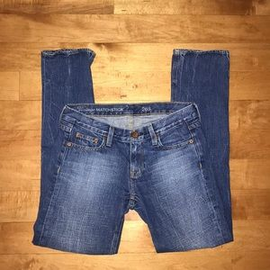 J.Crew jeans vintage matchstick blue denim 26S